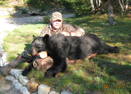 Bear Hunt in Ignace, Northwestern Ontario