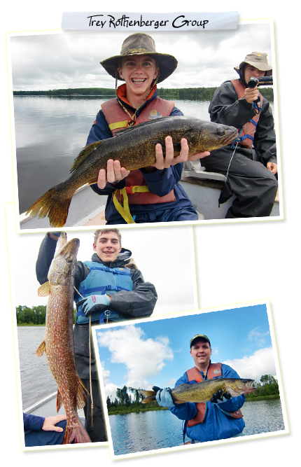 A Great Week of Fishing at Cobblestone Lodge