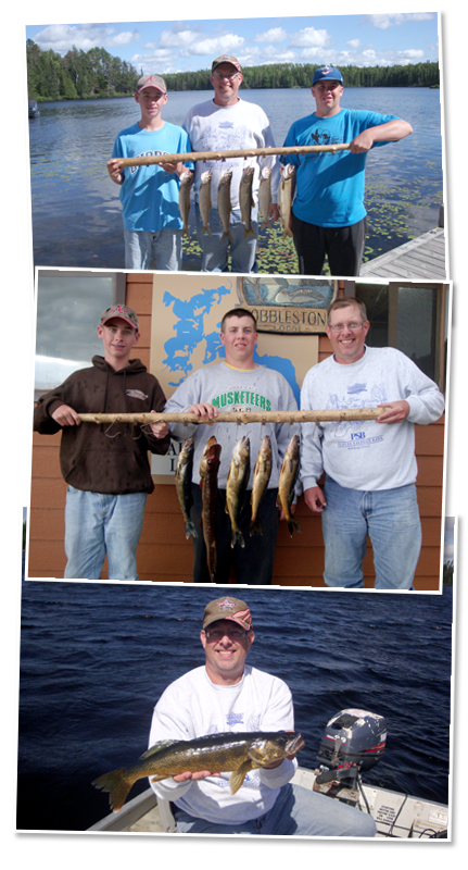 Thank you for the fishing trip Cobblestone Lodge
